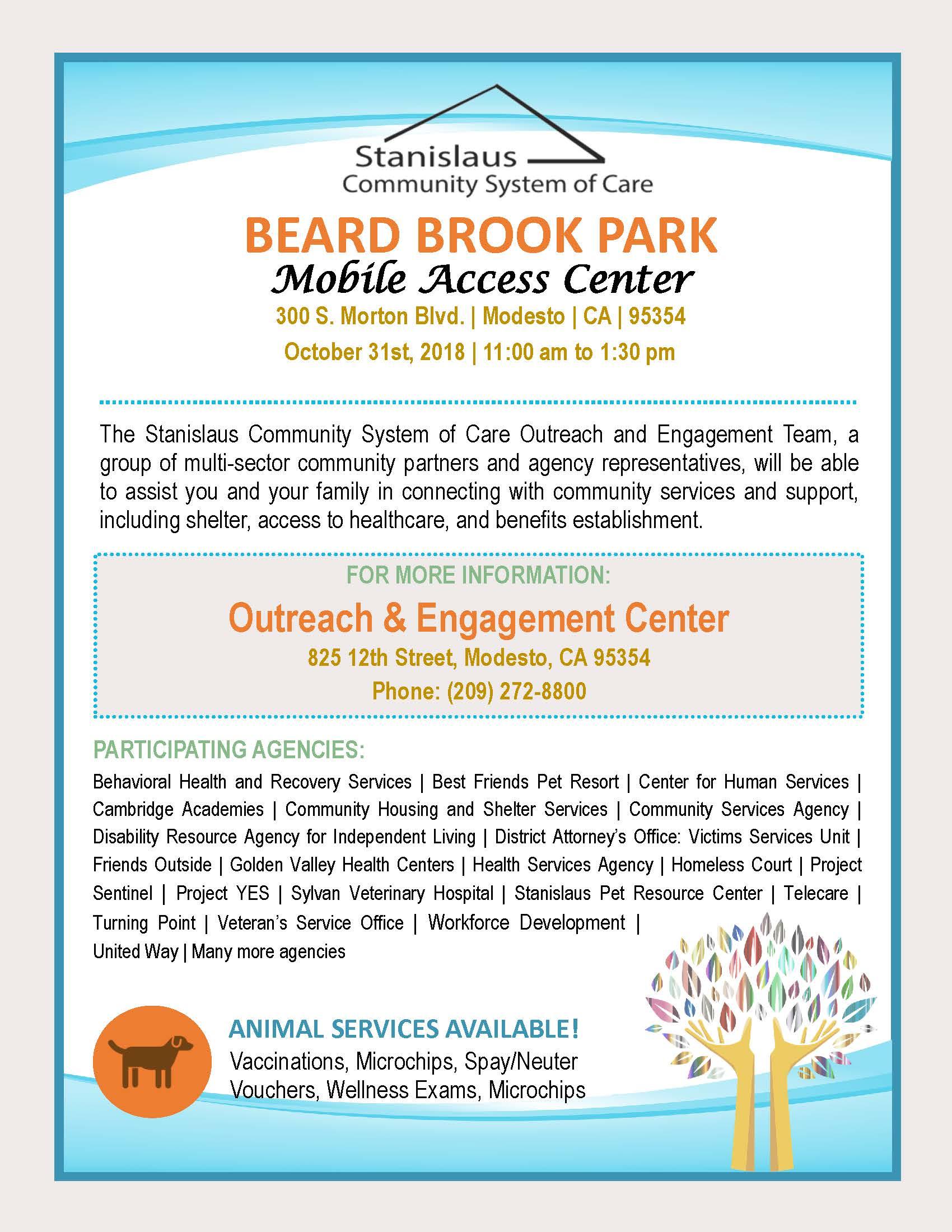 Beard Brook Park Mobile Access Center 1031